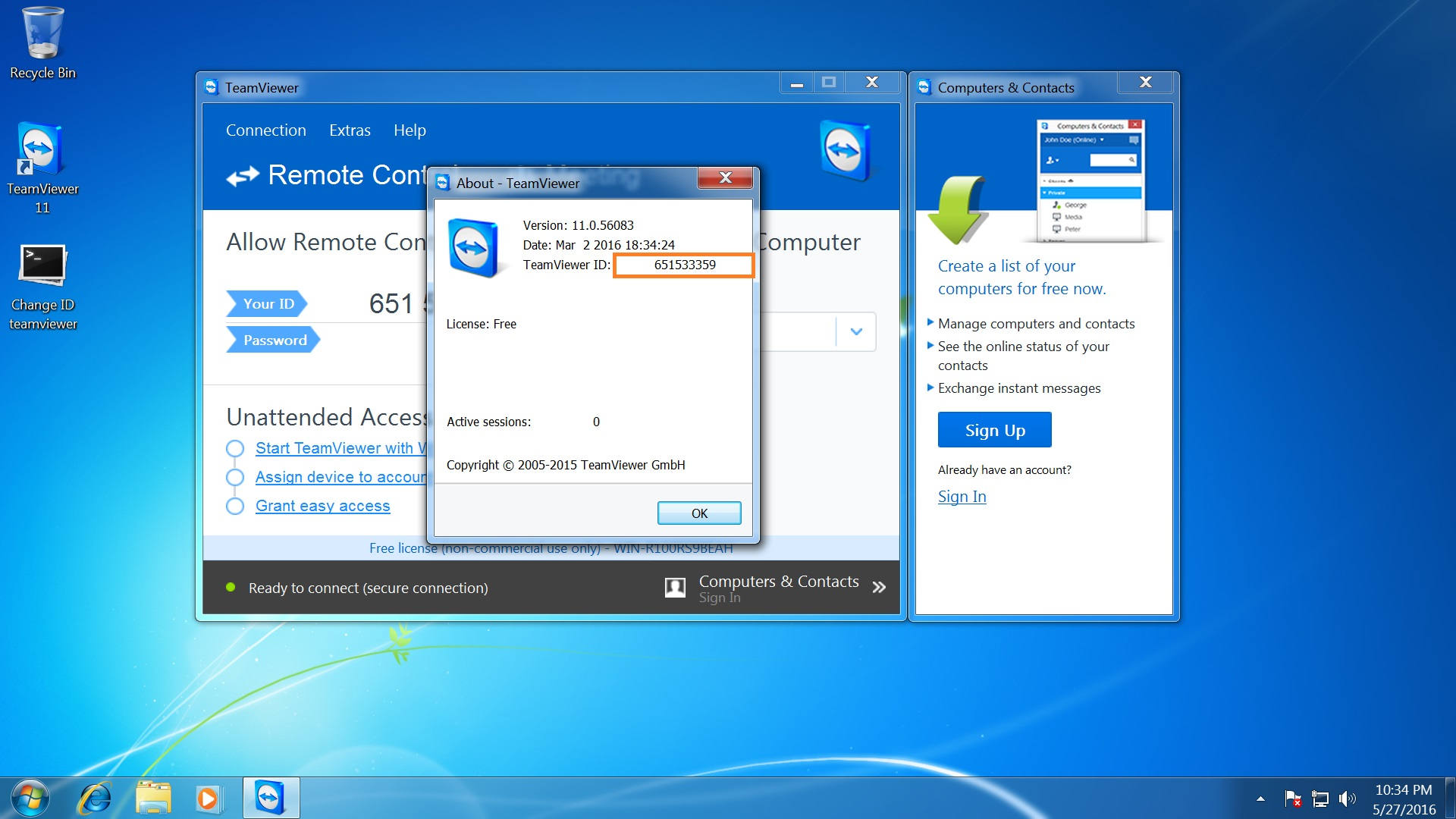 How to get new TeamViewer ID
