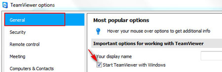 How to make TeamViewer start automatically