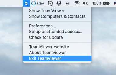 How to uninstall TeamViewer on Mac OS