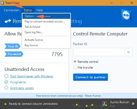 How to connect to TeamViewer without a password