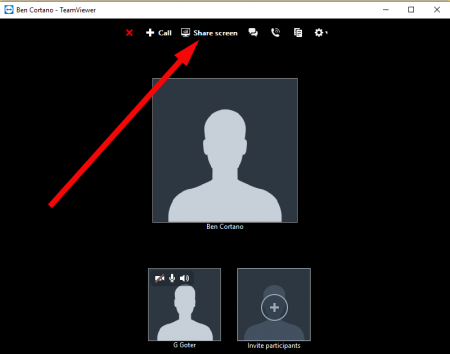 How to make video conference on TeamViewer