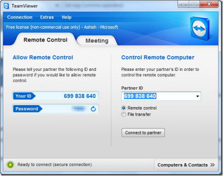 How to control Android with TeamViewer