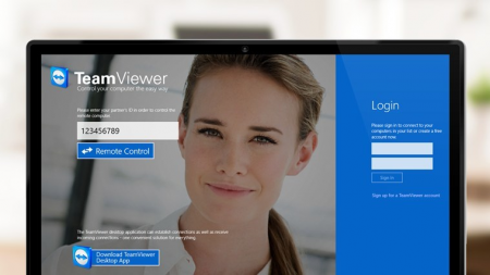 TeamViewer for Windows 8.1