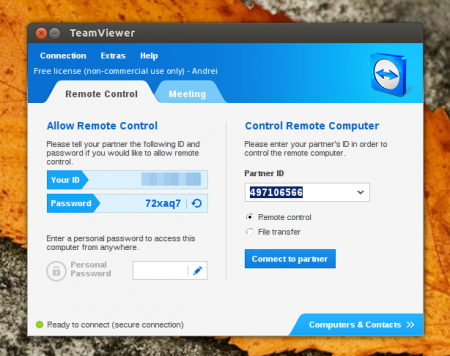 TeamViewer for Linux